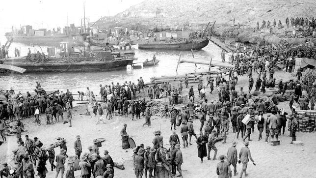 El primer desembarco del mundo lo realizo la Armada Española, ¿cuál fué?