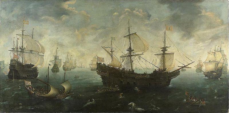 ¿Qué Rey creó y utilizó la famosa Armada Invencible Española?