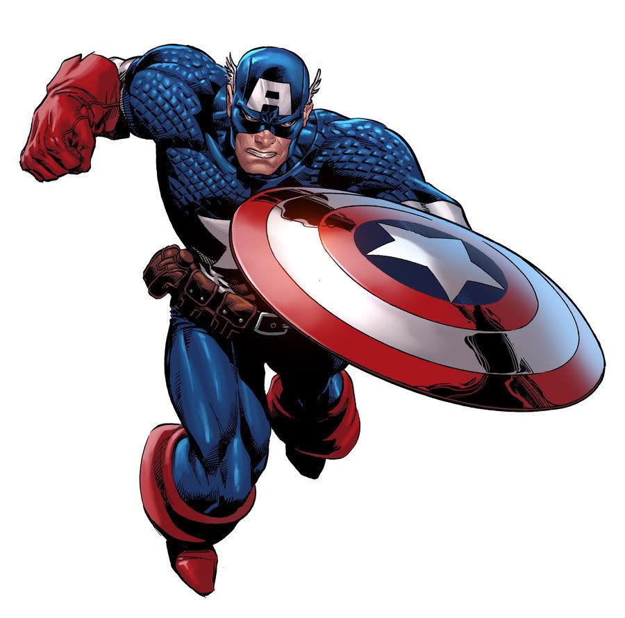 ¿A quién golpea el Capitán América en la portada de su primer comic?