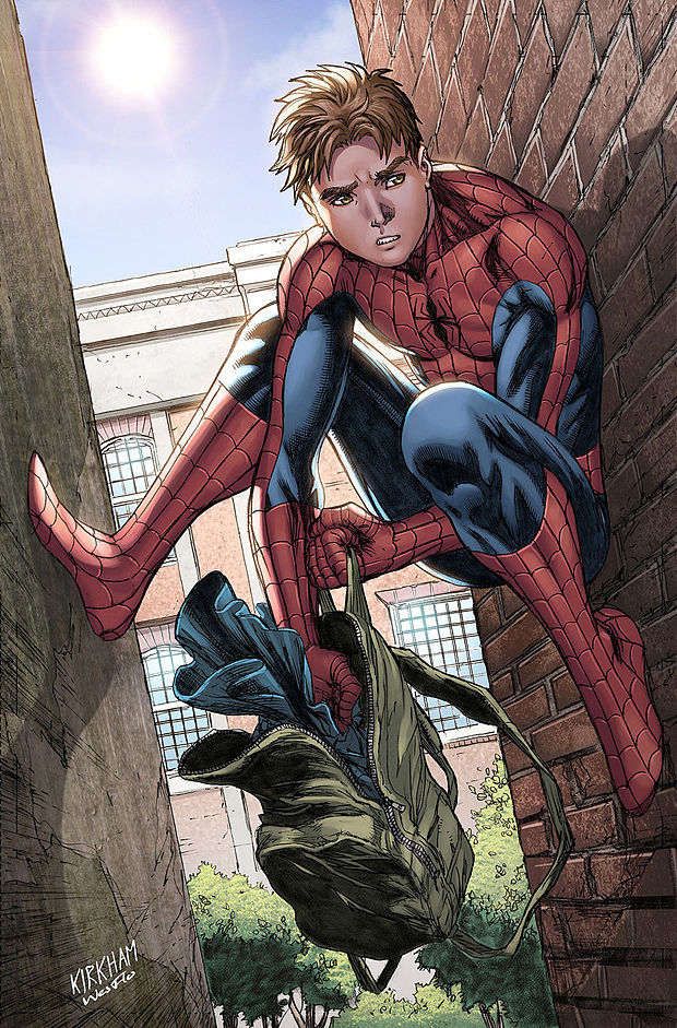 ¿Nombre de los padres de Peter Parker?