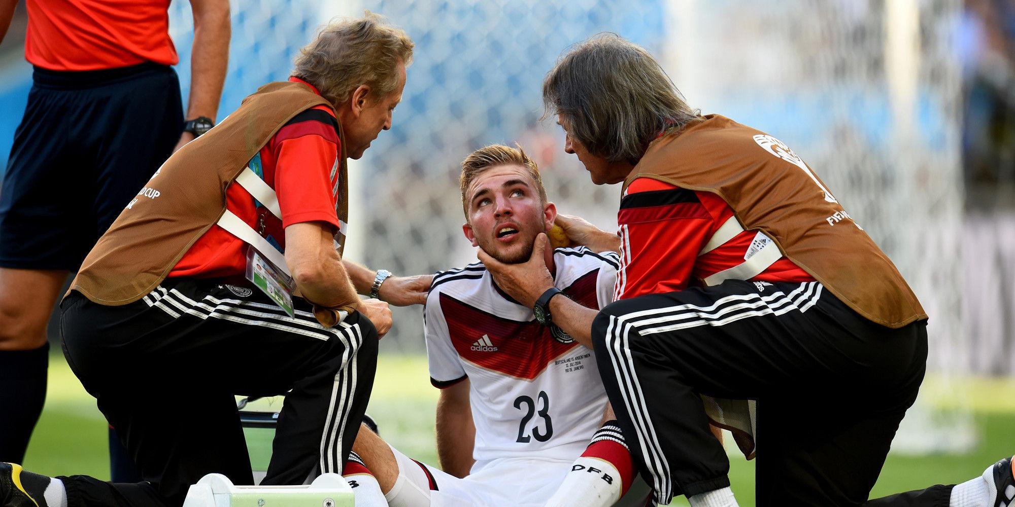 Durante la final del Mundial de Brasil 2014, el alemán Christoph Kramer tuvo que ser sustituido por lesión ¿Quién lo sustituyó?