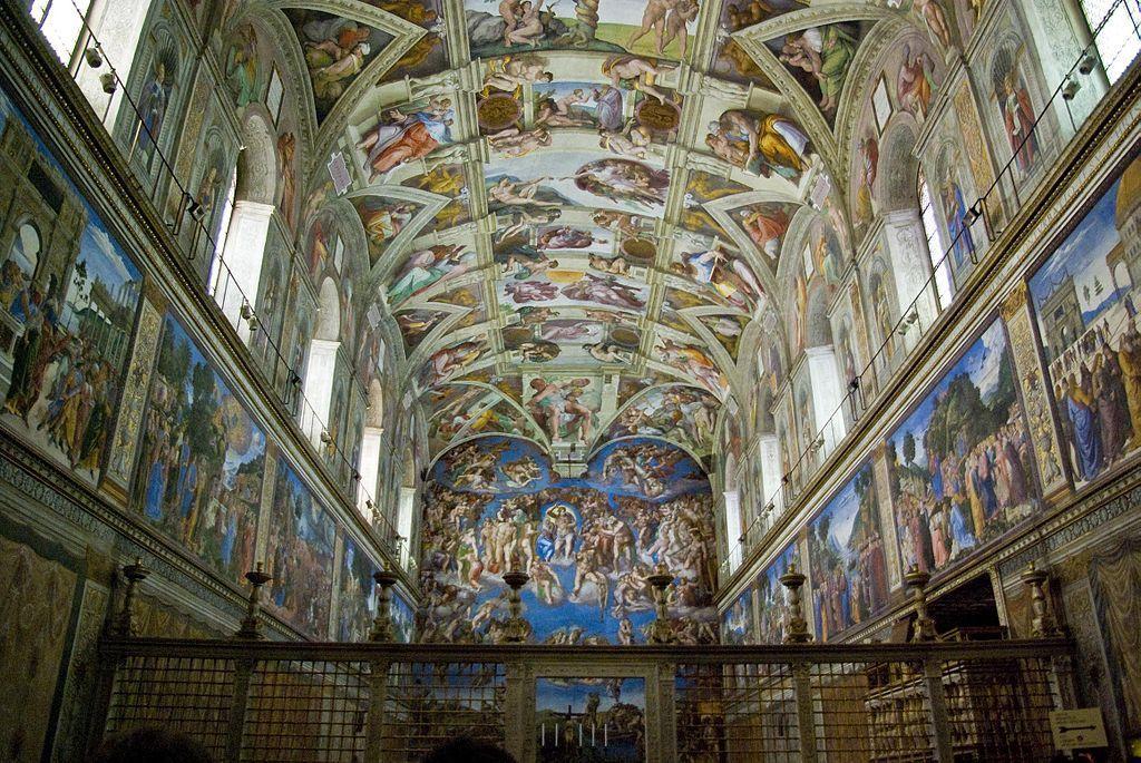 ¿Quién pintó La Capilla Sixtina?