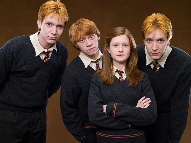 ¿Cuántos hermanos (en total) tiene Ron Weasley?