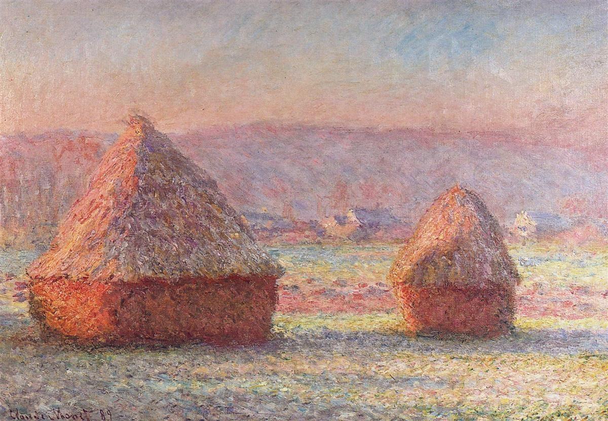 ¿A que movimiento artístico pertenecía Claude Monet?