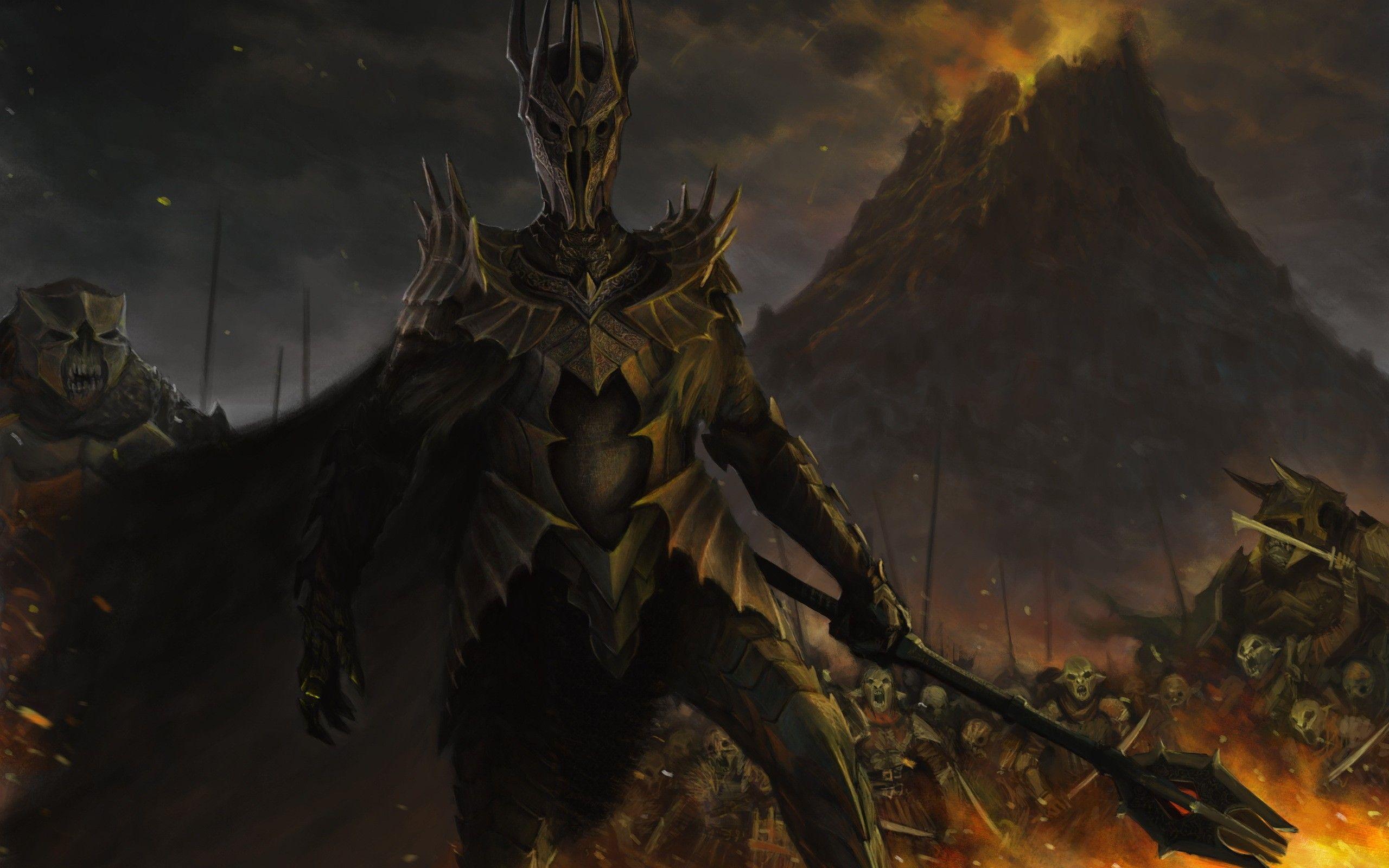 ¿Sauron es de la misma raza que Gandalf, Saruman y Radagast?