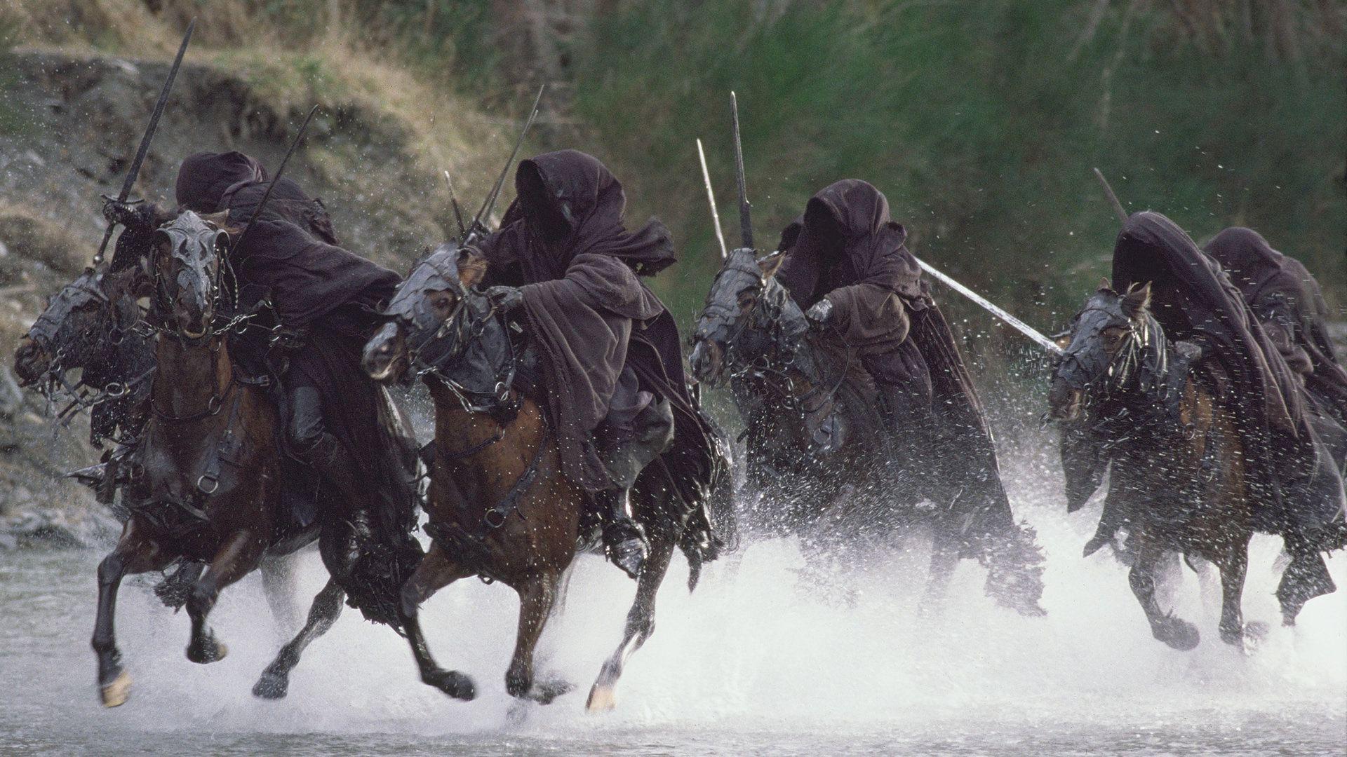 ¿Originalmente, quienes fueron los Nazgul?
