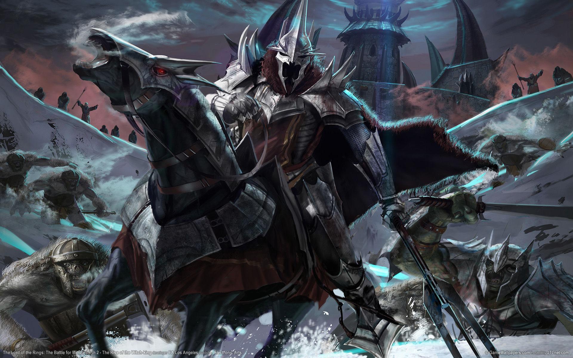 ¿Qué reino de los hombres logró destruir el Rey Brujo de Angmar?