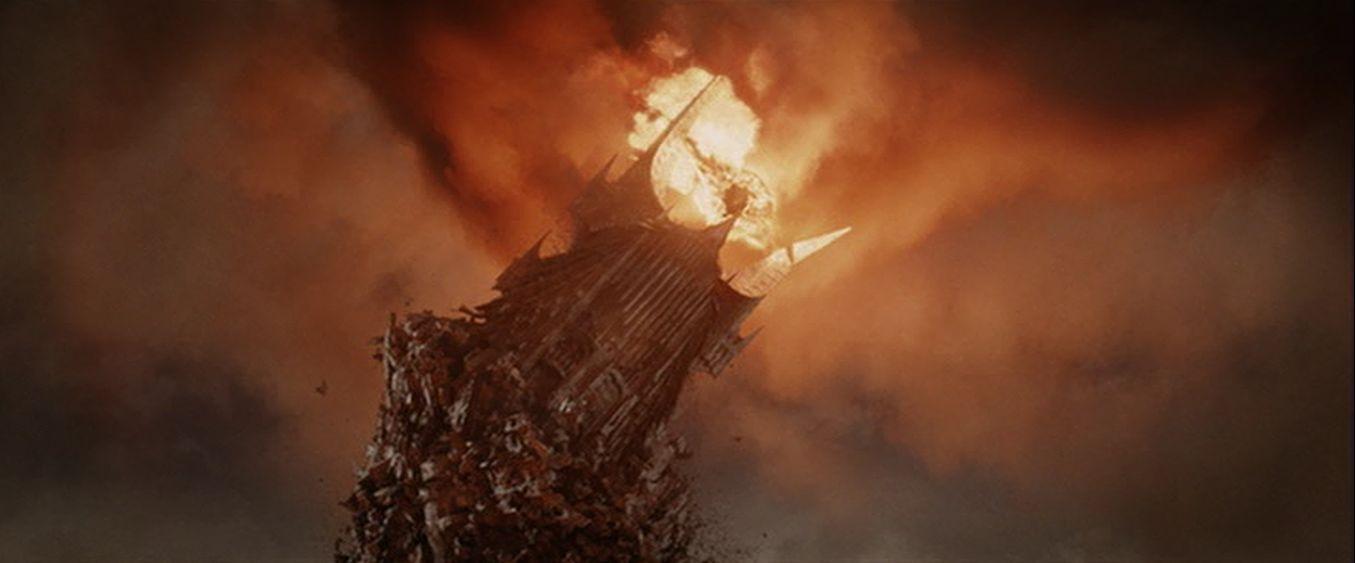 ¿Qué edad empezó con la definitiva caída del Señor Oscuro Sauron?