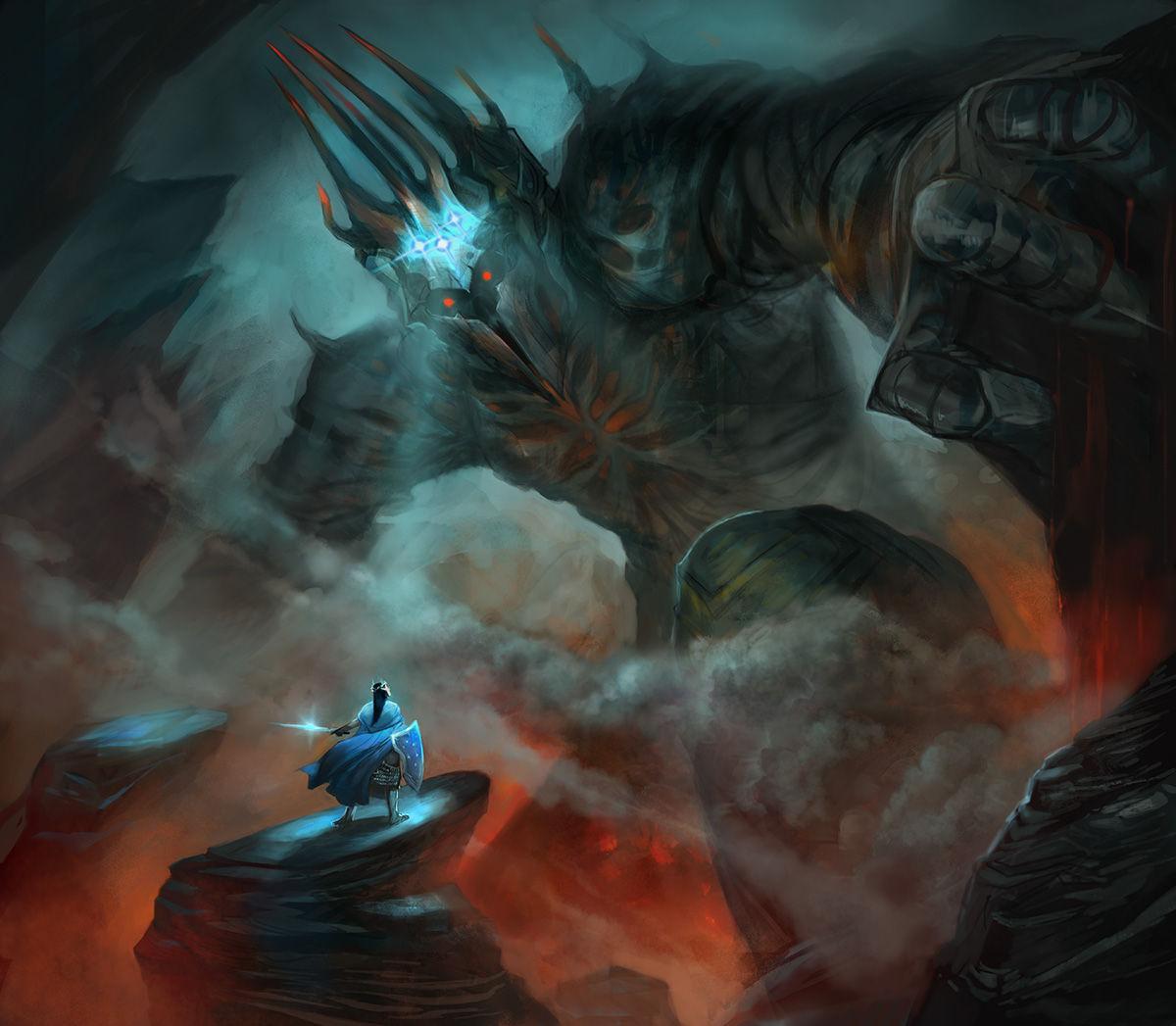 ¿Quién fue el primer Señor Oscuro y maestro de Sauron?