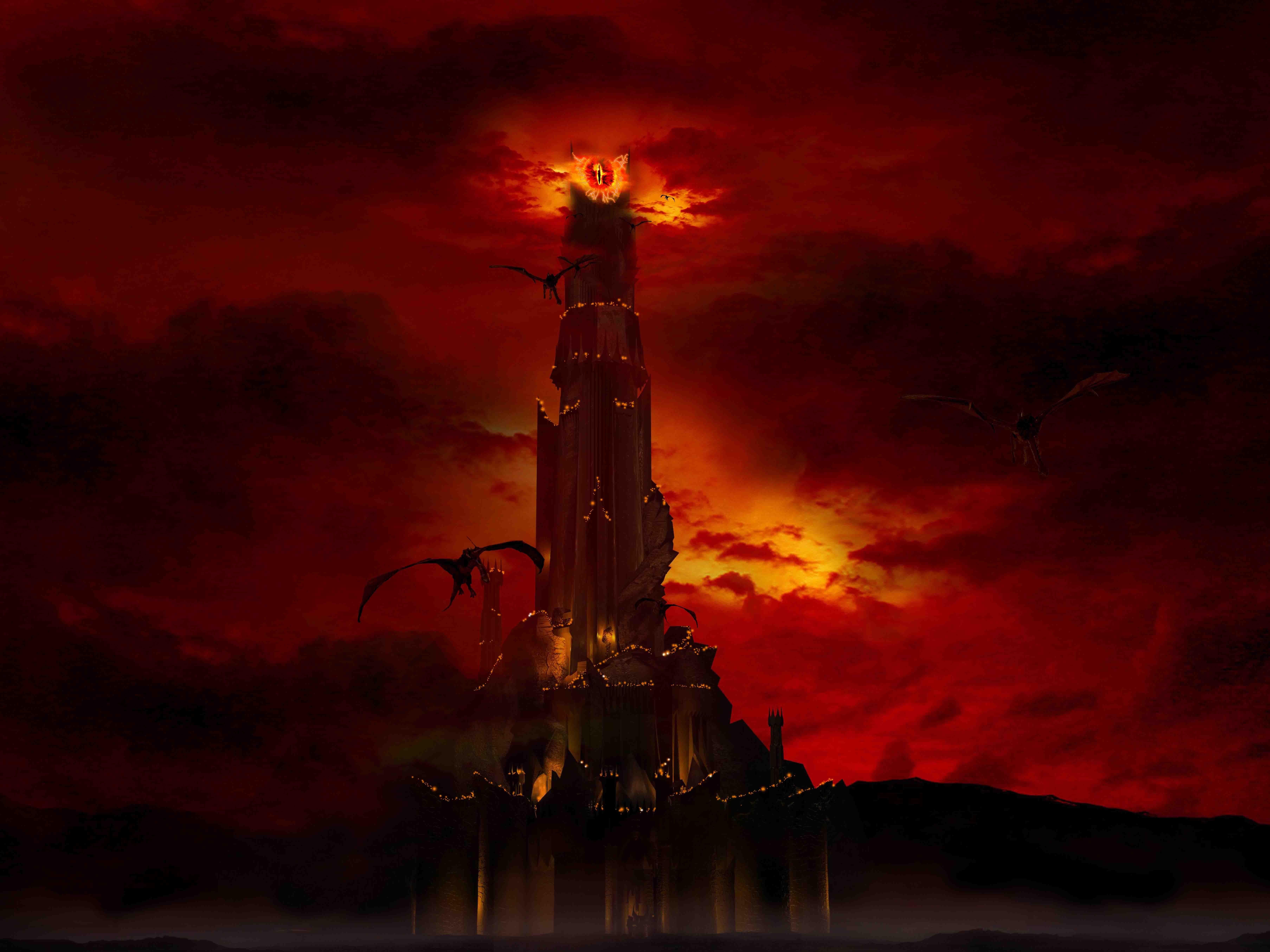 ¿Cómo se llamaba la fortaleza de Sauron en Mordor?