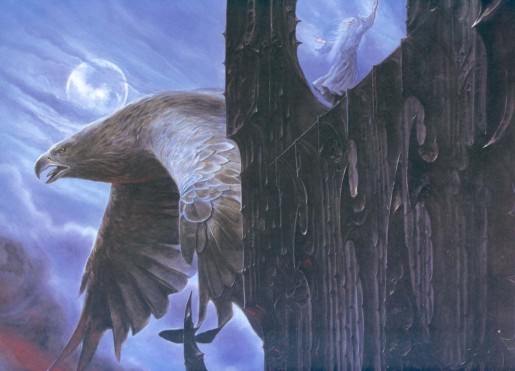 Y por último...¿Me podrías decir el nombre del Señor de las Águilas y amigo de Gandalf?
