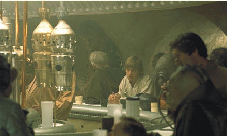 En la cantina de Mos Eisley, ¿a raíz de qué surgió la pelea entre Luke y Ponda Baba?