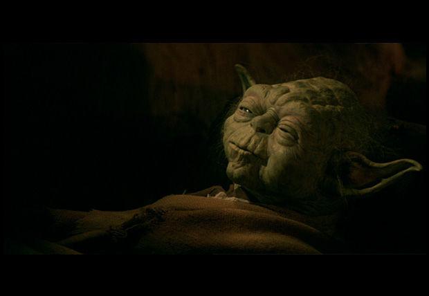 ¿Qué es lo último que le dice Yoda a Luke antes de morir?