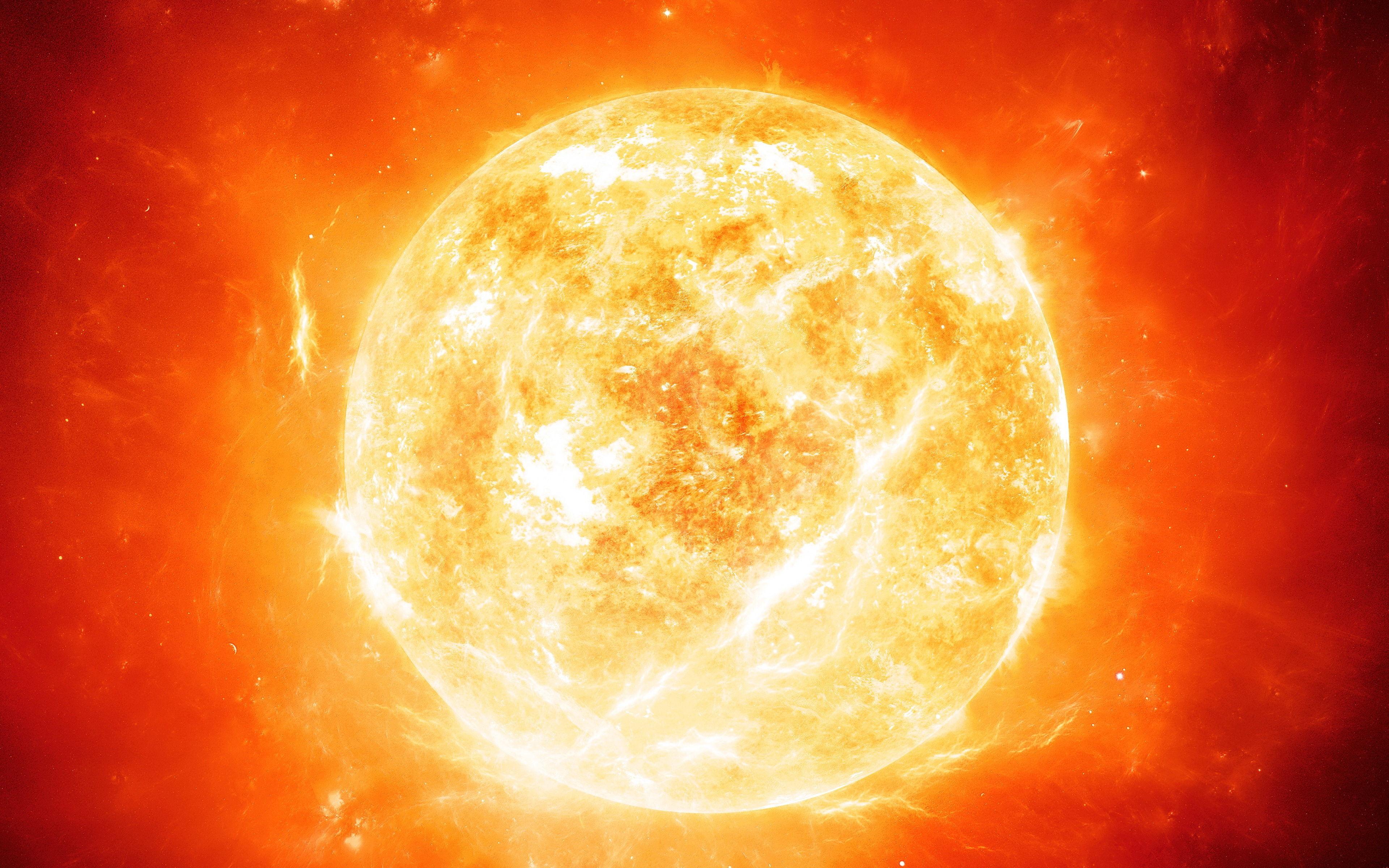 De un planeta chiquitito, a algo un tanto más grande: ¿Qué componente químico abunda más en el Sol?