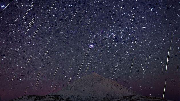 Por lo general, ¿qué lluvia de estrellas es la primera de todos los años?
