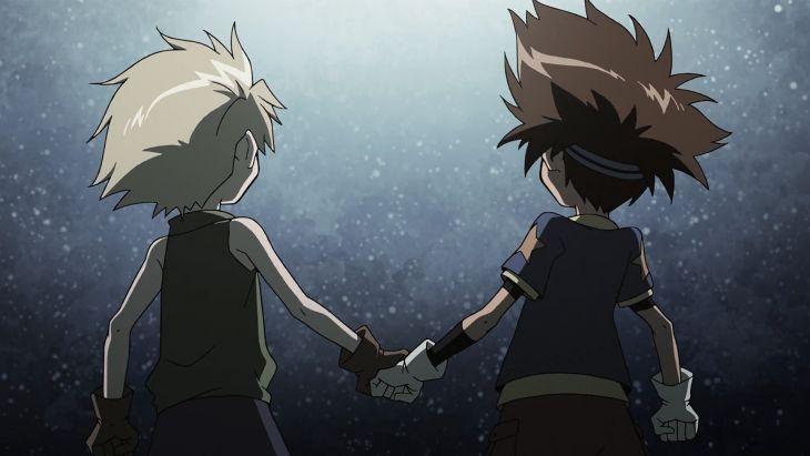 ¿Por qué se están dando la mano Tai y Matt?