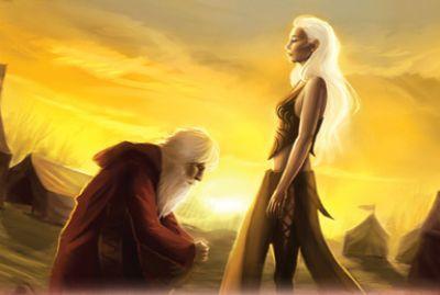 ¿Quién intenta matar a Daenerys en el campamento de Meereen cuando Arstan la salva?