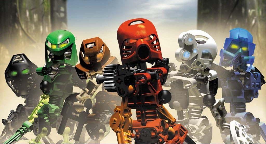 8459 - ¿Reconoces estos Bionicle?