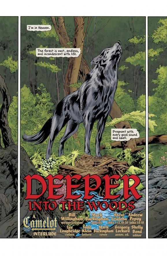 ¿Con quienes habla Bigby (Lobo) en el más allá?