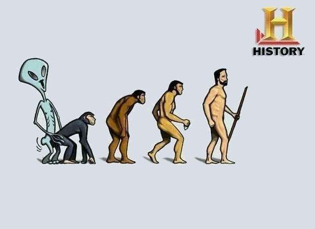 ¿Crees en la evolución humana?