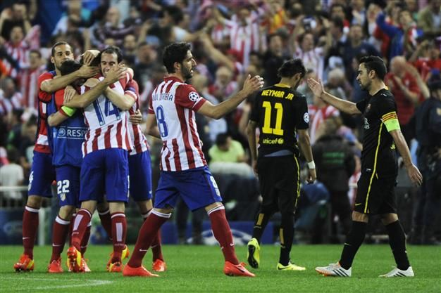 ¿En qué ronda cayó el FC Barcelona en la UCL 2014 teniendo al Atlético como verdugo?