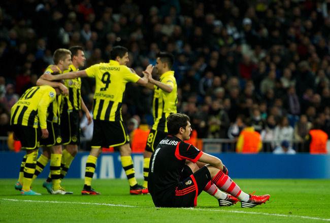 ¿Qué jugador del Borussia Dortmund en 2013 se encargó de eliminar al Real Madrid con 4 goles en Alemania?