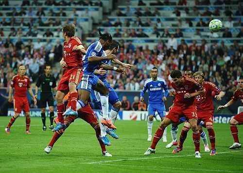 ¿A qué dos equipos eliminaron respectivamente Chelsea y Bayern en semifinales en la UCL 2012?