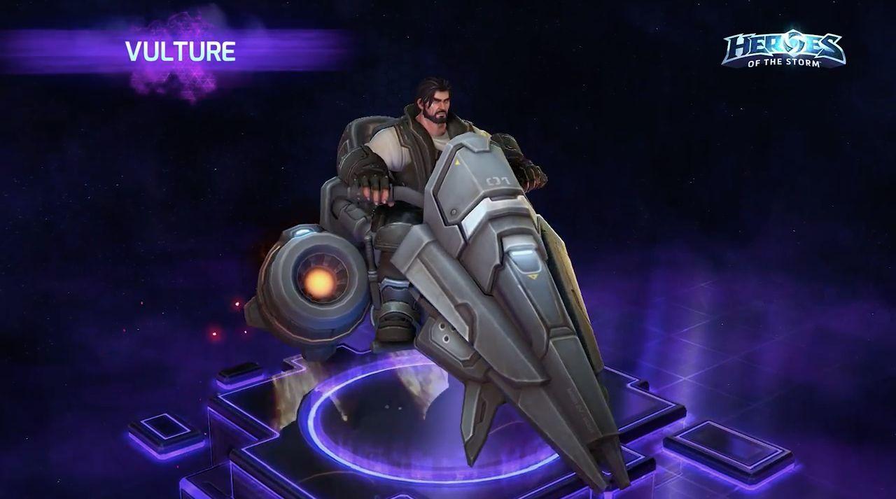 ¿Cuánto cuesta actualmente la montura Vulture del universo de Starcraft ?