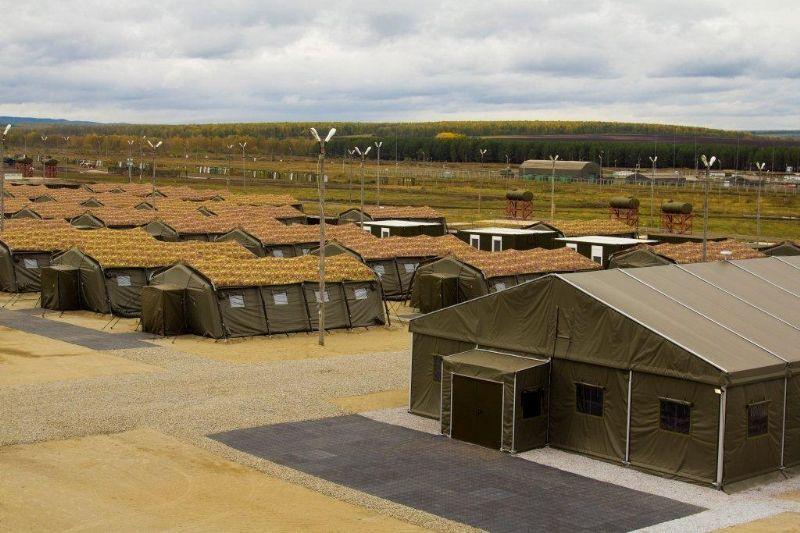 Hay un campamento enemigo delante ¿como afrontas la situación?