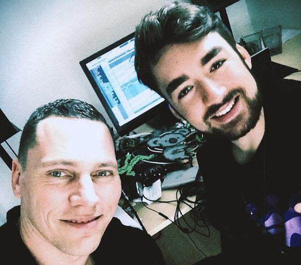 ¿Cuál es la canción con la que participa Dj Tiësto?