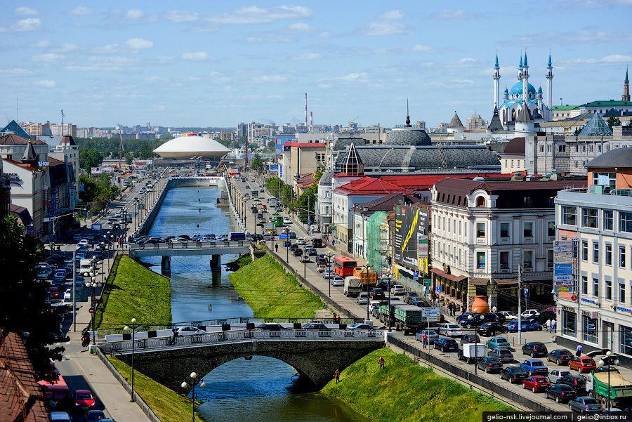 ¿A qué país pertenece Kazan?