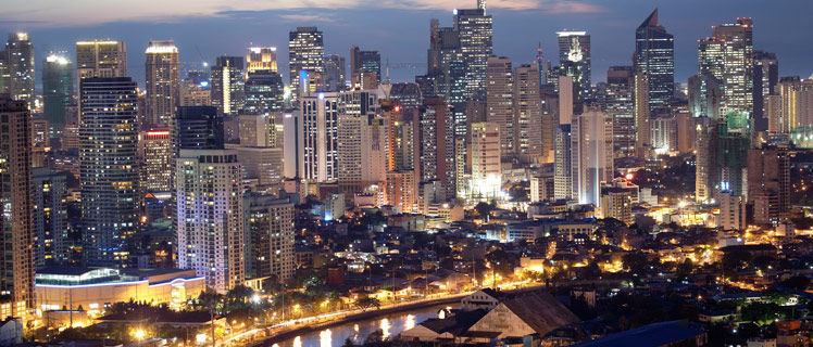 ¿A qué país pertenece Manila?
