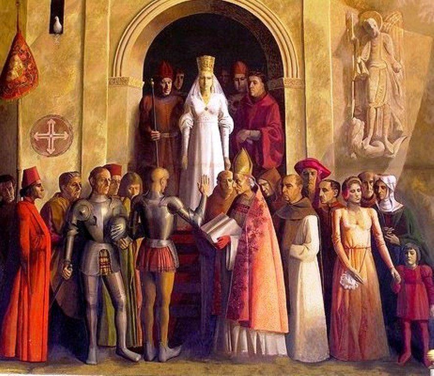 ¿Quién de estos monarcas vivió y se coronó en Segovia?