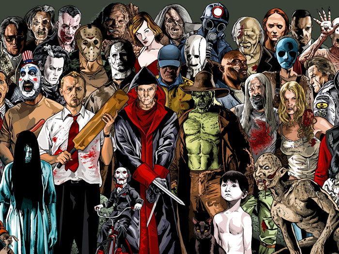 8954 - Personajes de películas de terror [Parte 3]