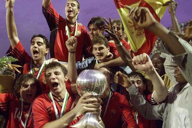 ¿Quién ganó el Balón de Oro del Mundial sub-20 que ganó España en Nigeria en 1999?