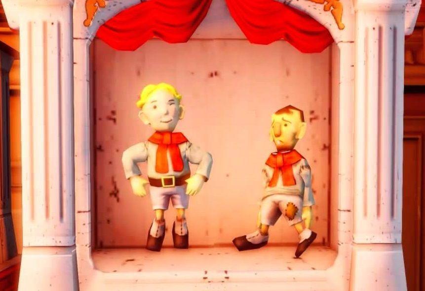 Y para finalizar, ¿cómo se llaman estos dos personajes?