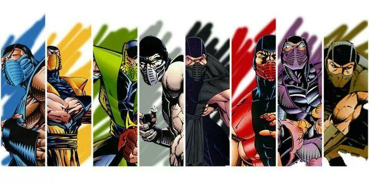 8973 - ¿A qué clan de Mortal Kombat deberías unirte?
