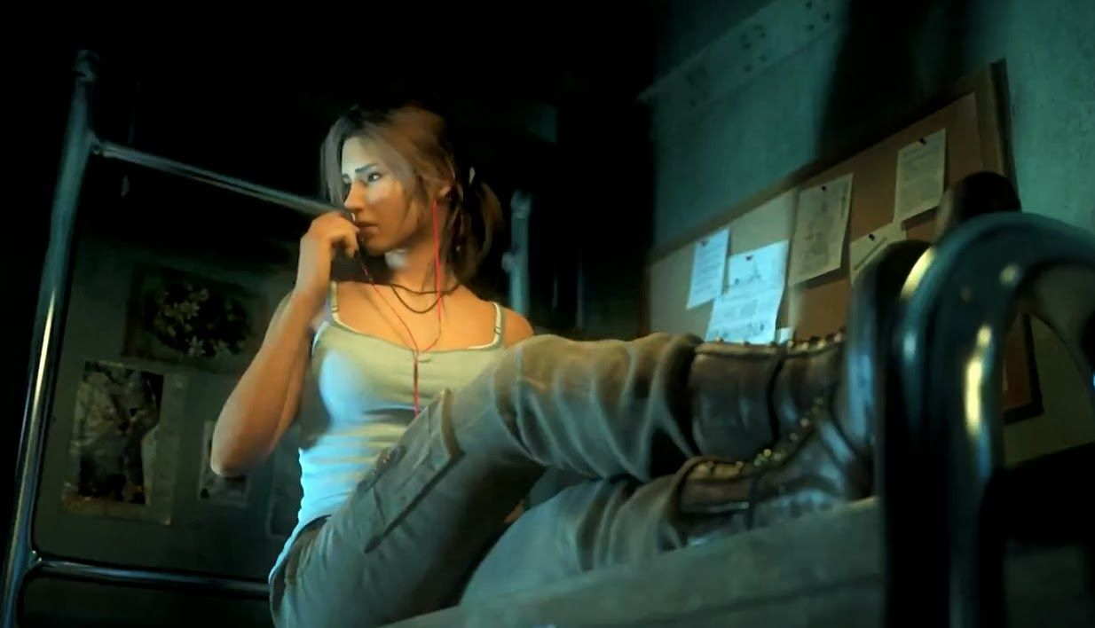 ¿Qué es lo primero que mata Lara en un acto de supervivencia en Tomb Raider 2013?
