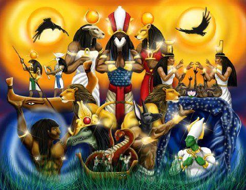 9172 - ¿Podrías nombrar estos dioses egipcios?