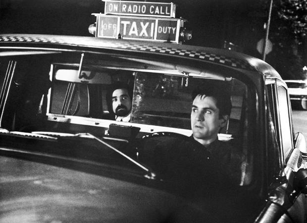 ¿En qué película Martin Scorsese hizo un famoso cameo en un taxi?