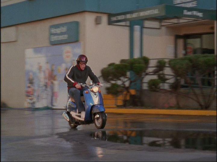 ¿Cómo se llama la scooter de JD?