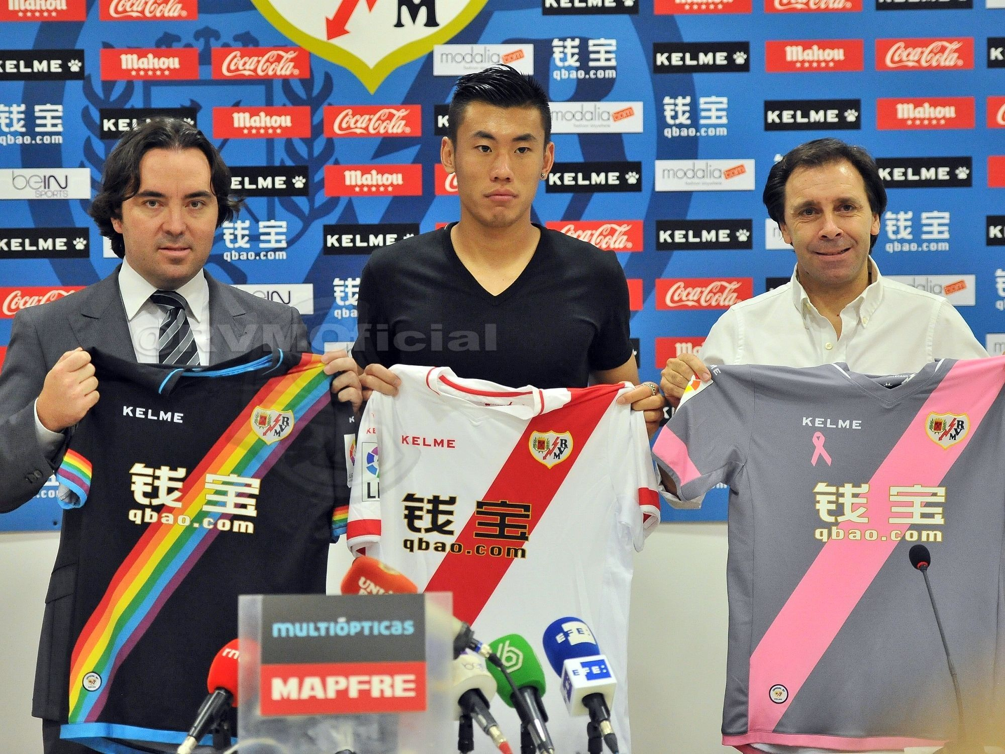 Zhang Chengdong es el primer jugador chino en la historia de la Liga BBVA.