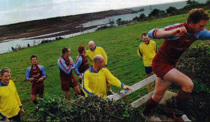 En la liga de las Islas Sorlingas sólo hay dos equipos.