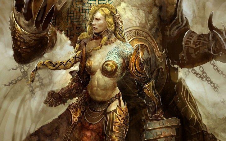 En Guild Wars, el daño va dirigido hacia una parte de la armadura. ¿Cuál es la más propensa a recibir el daño?