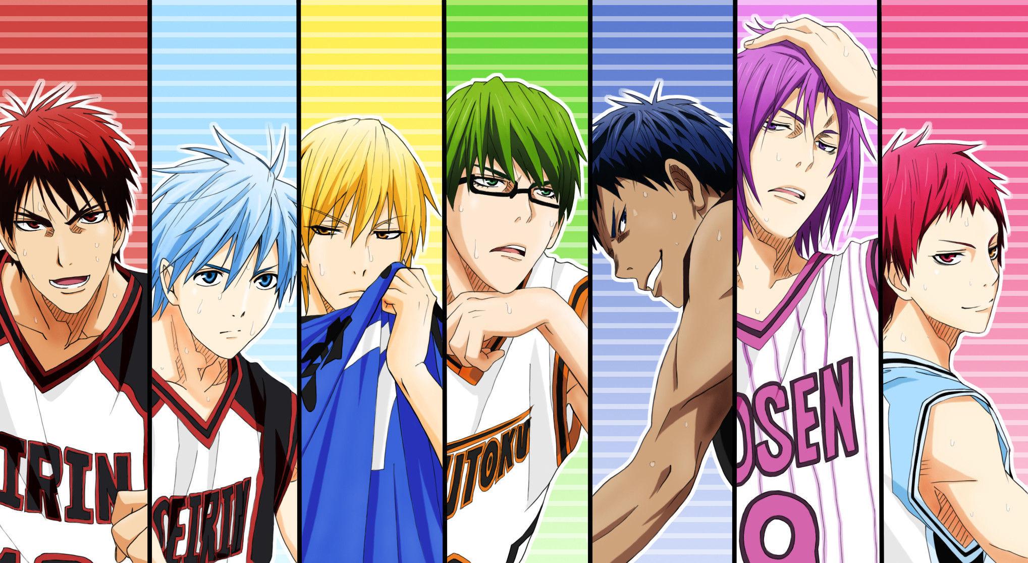 9244 - ¿Conoces a todos los personajes de Kuroko no basket? (Facil)