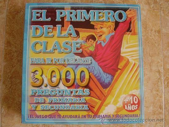 9278 - ¿Cuánto sabes del juego ''El primero de la clase''? [PARTE 2]