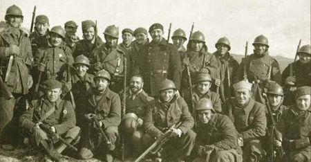 ¿A favor de quién luchaban las brigadas internacionales en España?