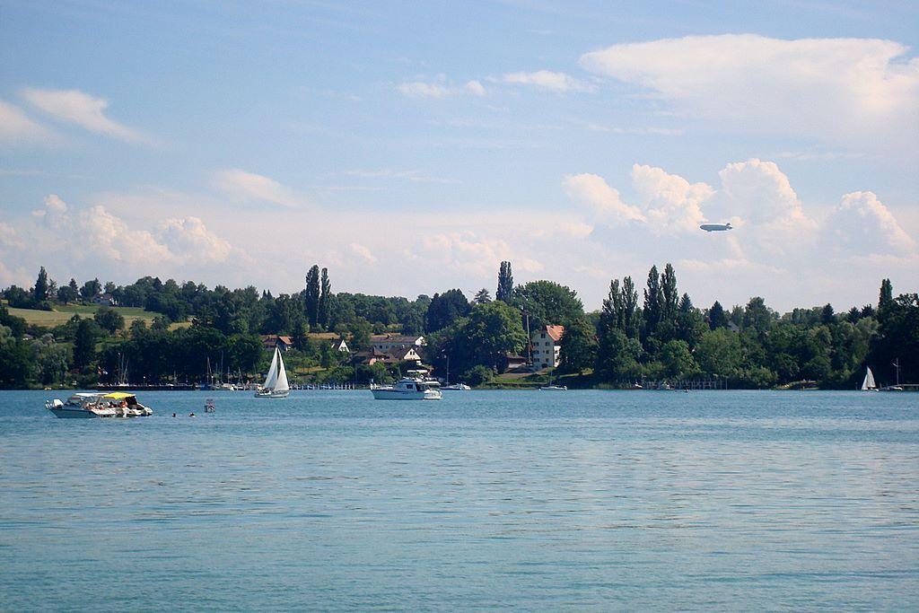 ¿Qué países limitan con el lago Constanza?
