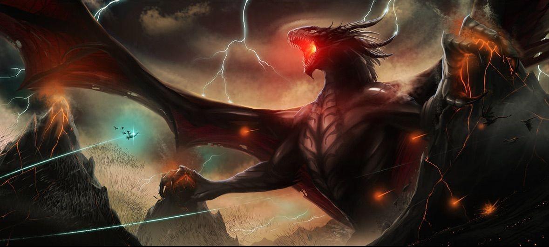 ¿Quién derrotó al dragón Ancalagon?