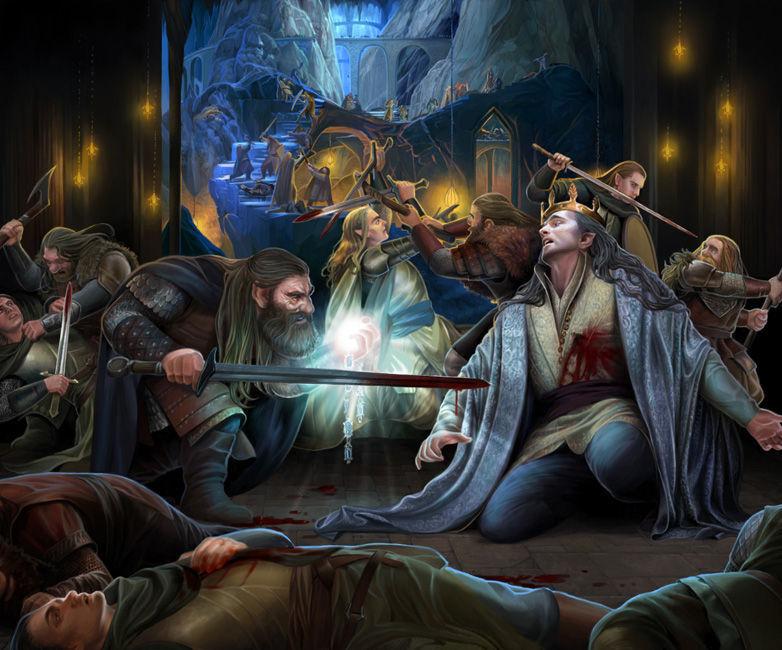Los enanos asesinaron al rey elfo de Doriath, ¿quién era este rey elfo?